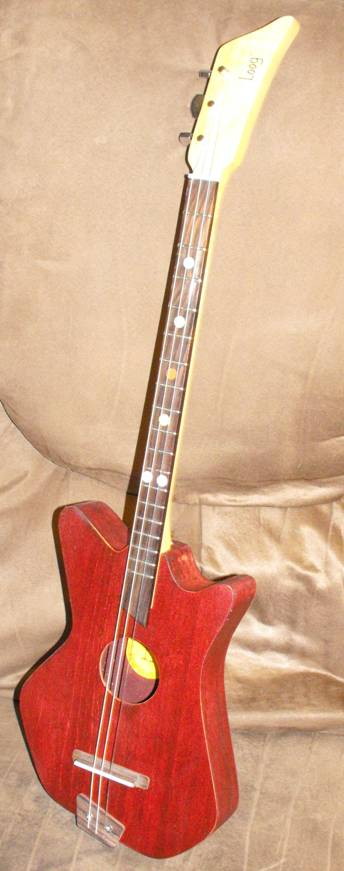 Jen's Stained Loog Guitar