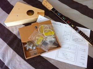 Unassembled Loog Guitar