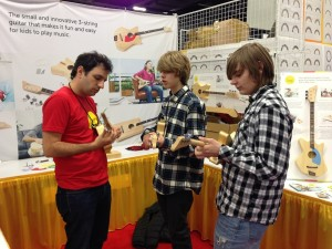 Loog Guitars at NAMM