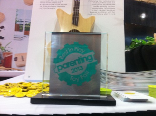 Loog Guitars - Best in Play at Toy Fair 2013 by Parenting Magazine