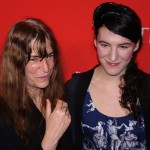 Patti Smith and her daughter