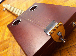 4-string cigar-box guitar