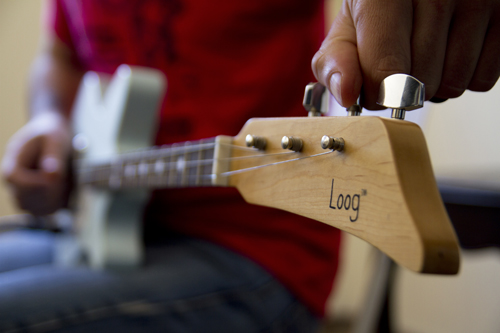 The Electric Loog Guitar - neck