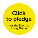 Click to pledge for the Electric Loog Guitar