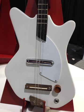Off White Electric Loog Guitar