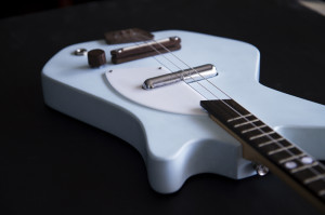 Blue Electric Loog Guitar
