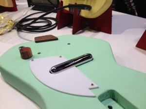 Green Loog Guitar