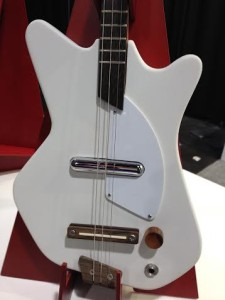 White Electric Loog Guitar