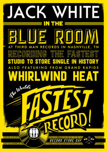 Jack White - The World's Fastest Record