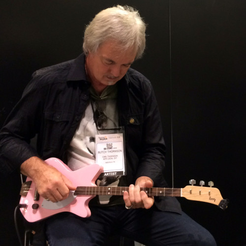 Trying the Electric Loog Guitar at Summer NAMM