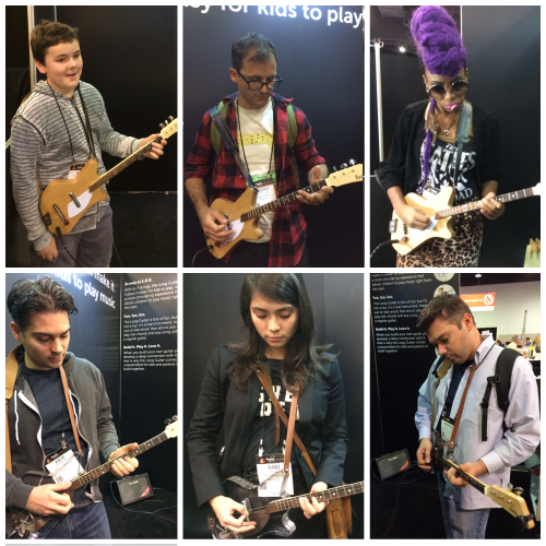 Loog Guitars at NAMM 2015