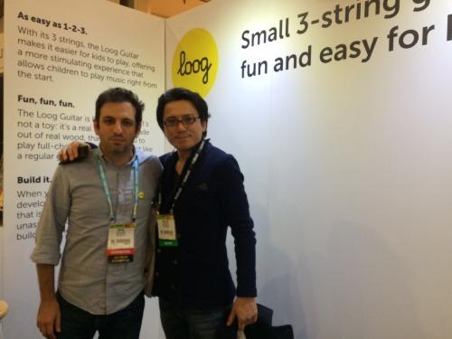 Rafael Atijas and Taka from Cast, Japan