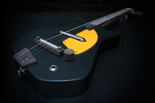 Third Man Records Electric Loog Guitar - Black