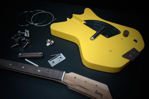 Third Man Records Electric Loog Guitar - Yellow
