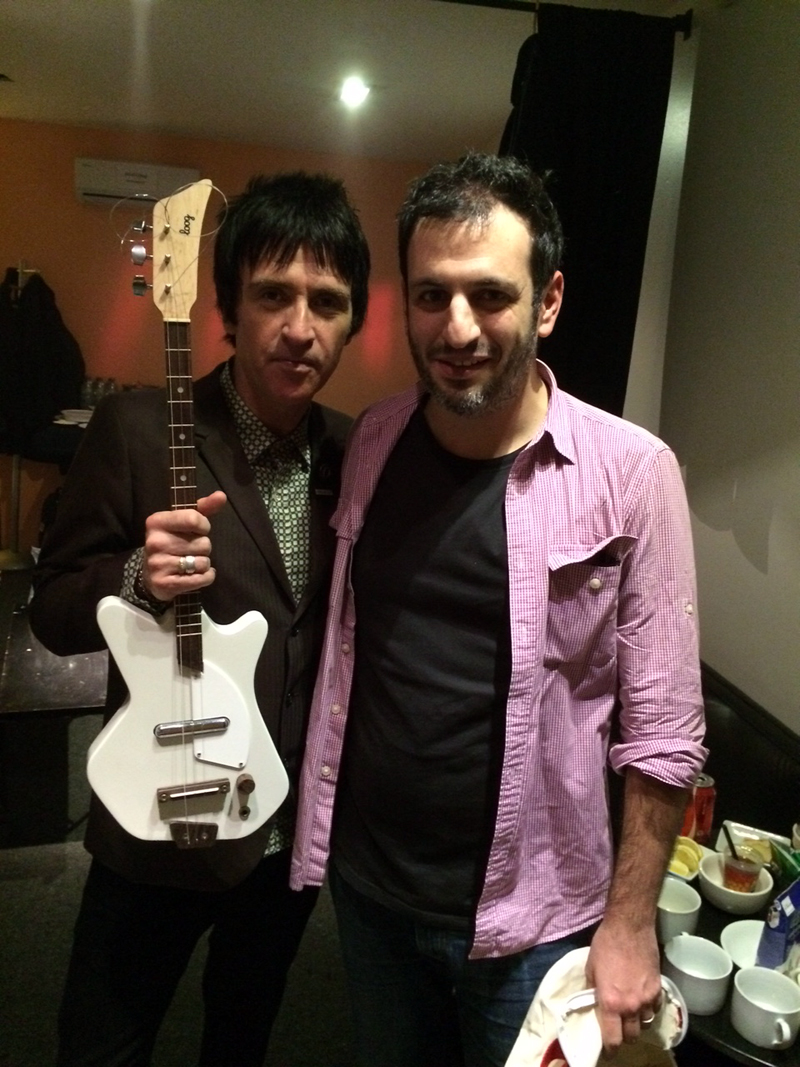 Johnny Marr and his Electric Loog Guitar
