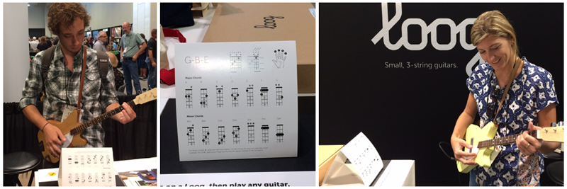 Loog Guitars at Summer NAMM