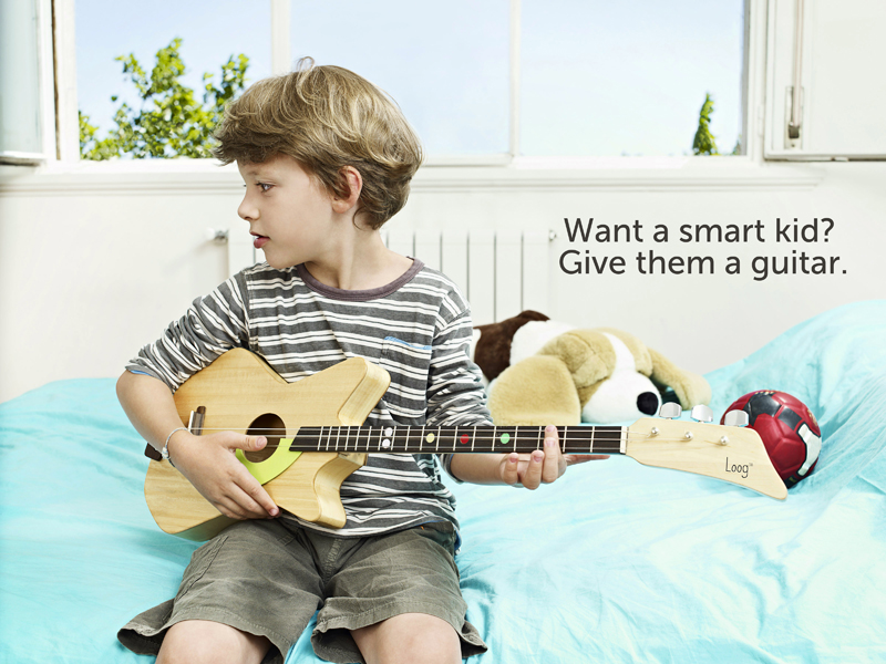 Want a Smart Kid? Give them a guitar