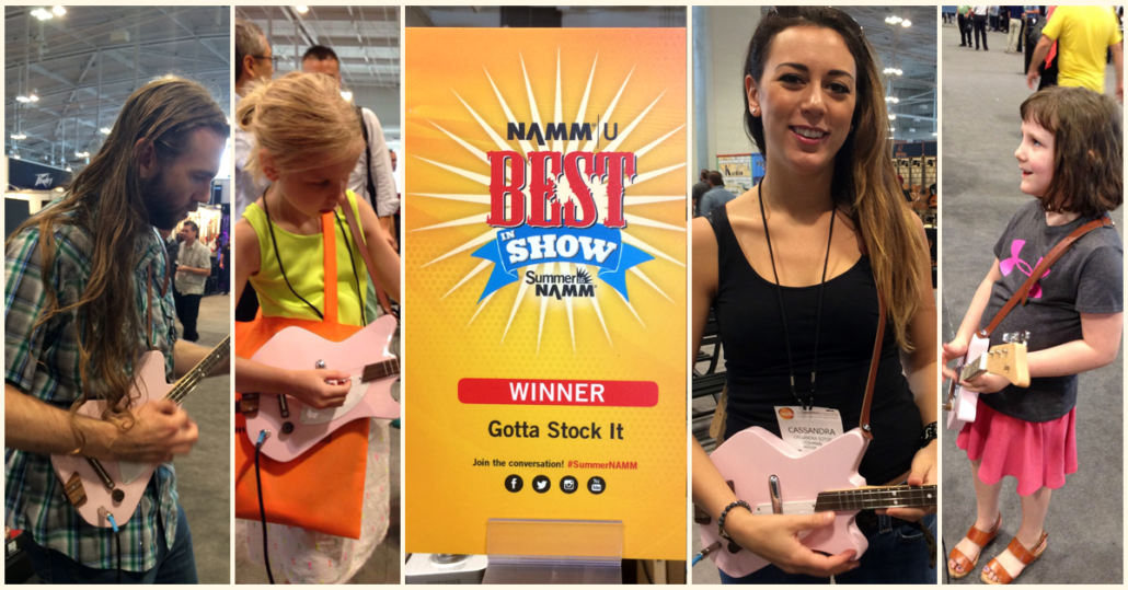 Loog Guitars Best in Show at Summer NAMM 2016